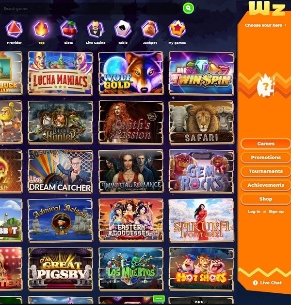 Wazamba Casino review