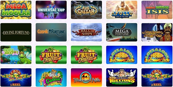 Fruity Casa Casino games and software providers