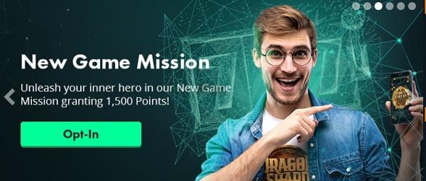 Volt Casino game missions