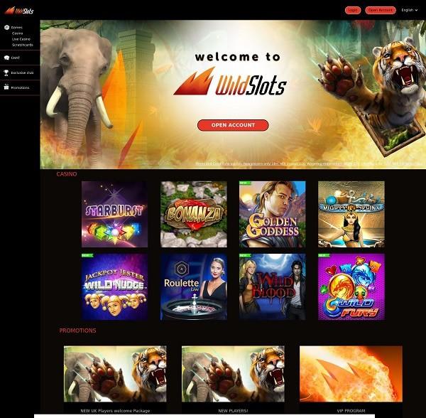 Enjoy Wild Slots Casino games for free!