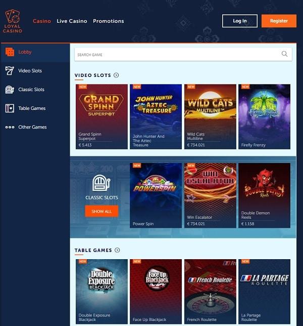 Loyal Casino Review