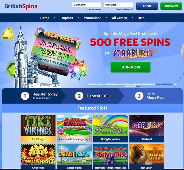 British Spins Review
