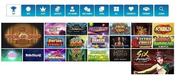 Slotnite Casino Games