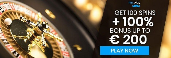 Mr.Play 100 free spins