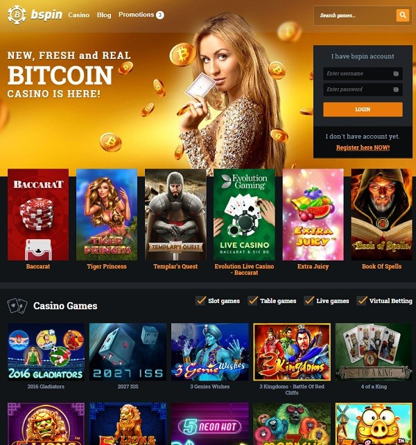 Bspin Casino review