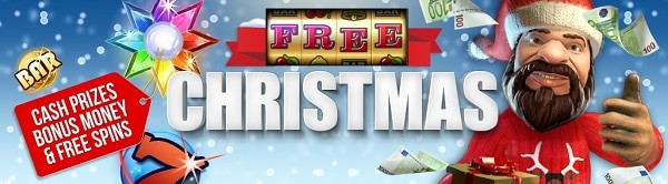 Christmas Casino Bonus Calendar - free spins, prize draws, cash giveaway, gifts