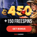 Joo Casino 150 free spins and 450 EUR welcome bonus