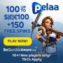 Pelaa Casino 150 free spins and €1000 welcome bonus
