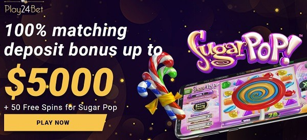 100% up to $5,000 welcome bonus to new players