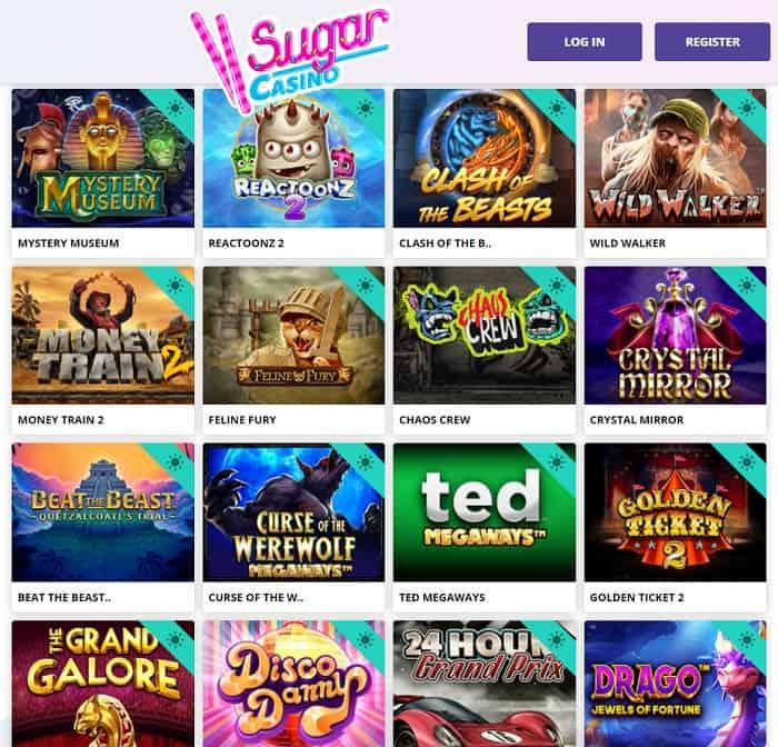 Sugar Casino free bonus