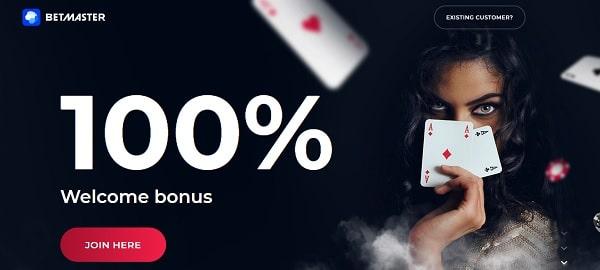 100% welcome bonus on deposit