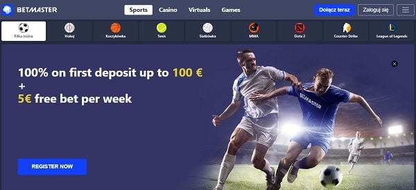 5 EUR free bet