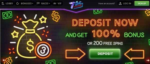 100% bonus and 200 free spins up for grabs
