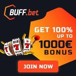 Buff Casino free spins bonus codes