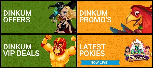 Dinkum free spins and promotions