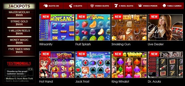 Superior Casino Online Games