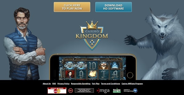 Casino Kingdom (Microgaming) Full Review