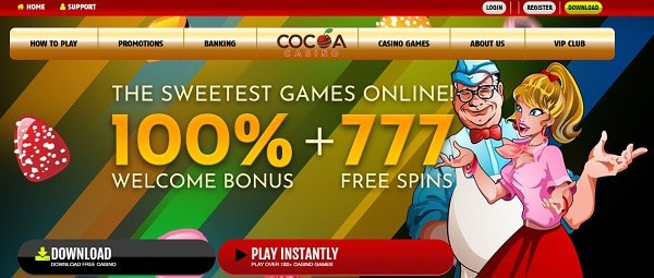 100% + 777 Free Spins