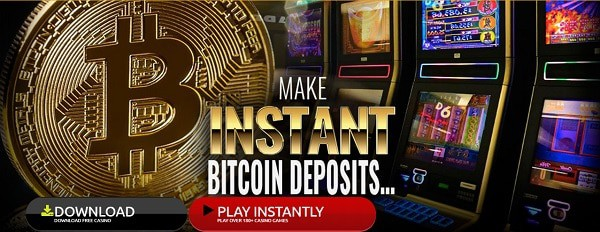 Instant Deposits and Cashouts via Bitcoin