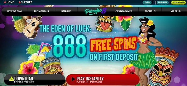 888 Free Spins Games