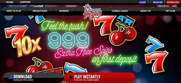 999 Free Spins Bonus
