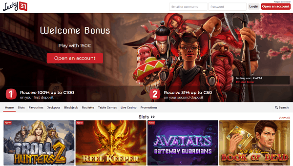 Welcome Bonus New Players Promotion