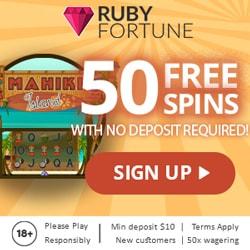 50 Free Spins No Deposit Required!