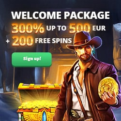 Slot Hunter Casino banner 250x250