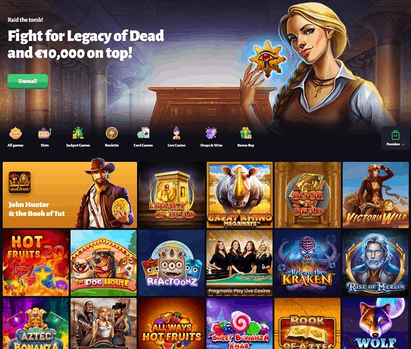 Slot Hunter Casino Review