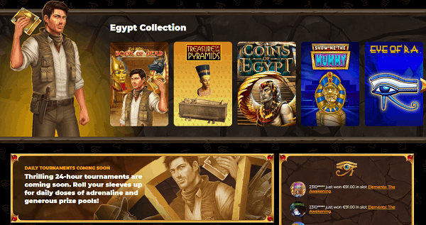 The best casino game collection