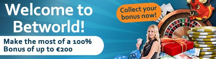 100% bonus up to 200 EUR