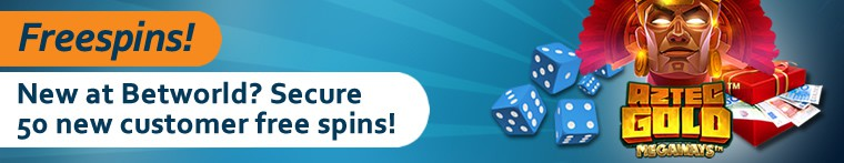 50 free spins on new slots