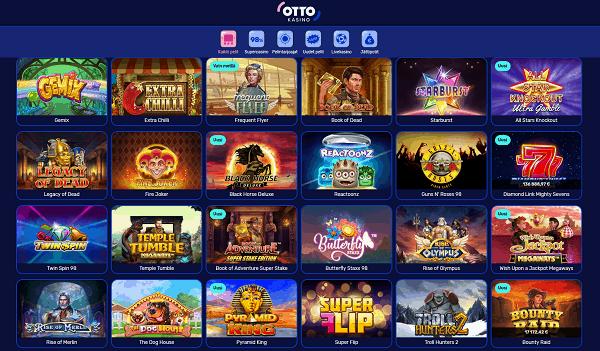 Otto Casino free spins bonus