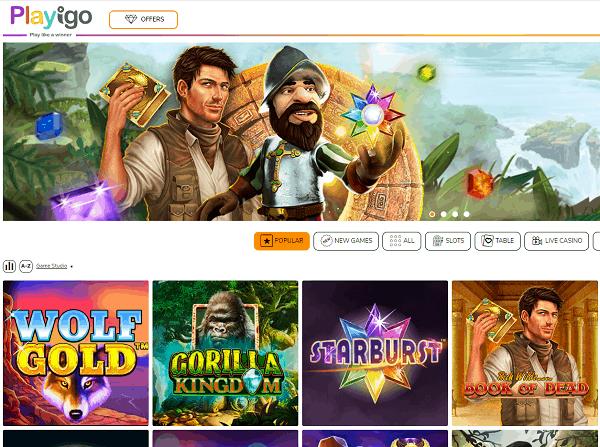Playigo Casino Review