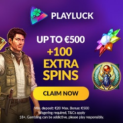 100 Extra Spins and 500 EUR bonus up for grabs