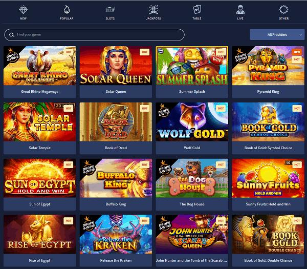 Slotman Casino Website Review
