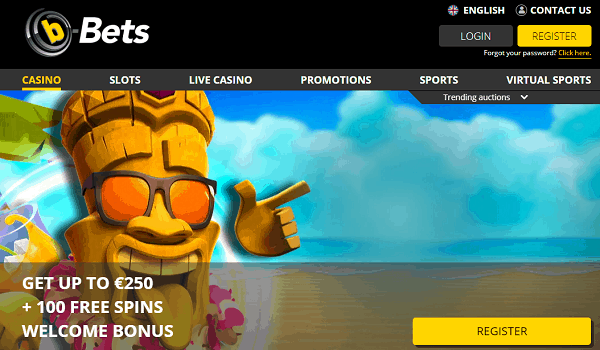 Open your account now and play with free spins bonuses