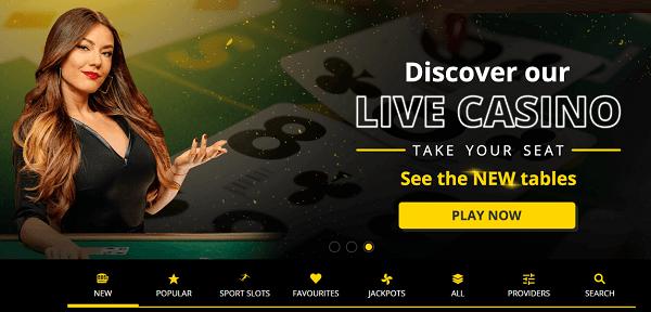 Discover b-Bets Live Dealer games