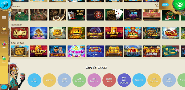 Register and Play the best online casino games!