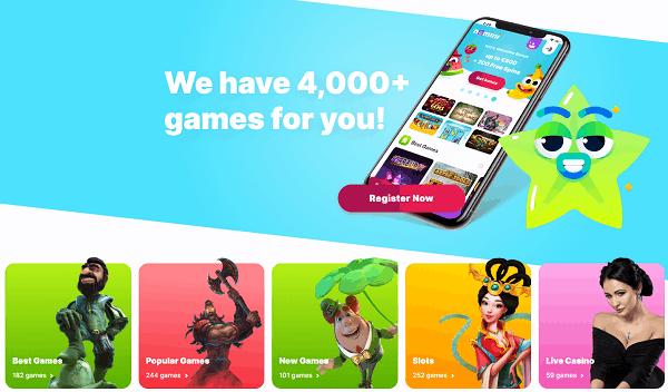 Nomini Casino Games, Mobile App, Software Providers