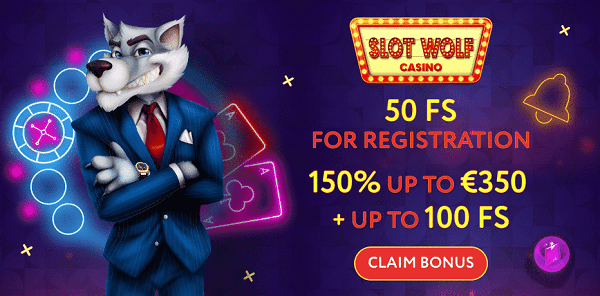 50 free spins on registration (no deposit needed)