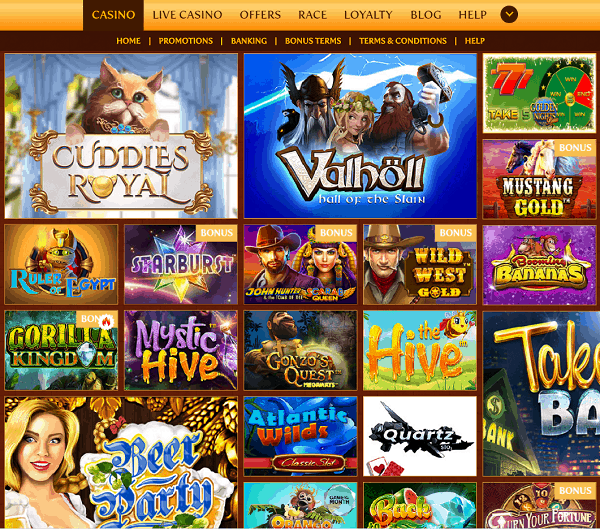 BetsPalace Casino Review