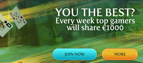 Get 1000 EUR free cash!