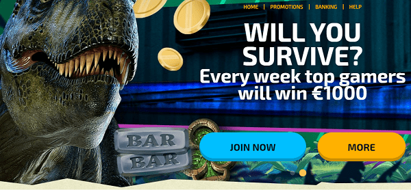 Every week top gamers will win 1,000 EUR!