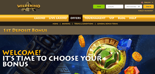 100% Welcome Bonuses and Free Spins