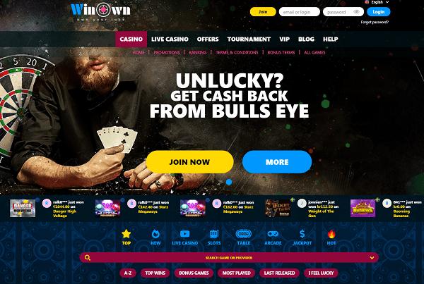 Winown Casino Website Review