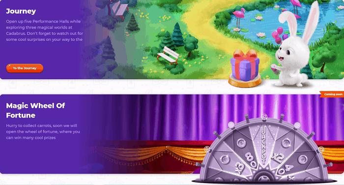 Cadabrus Journey and Magic Wheels