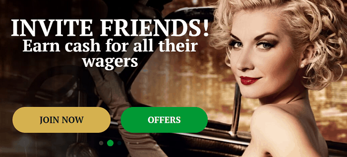 Invite your friends and get extra cash.