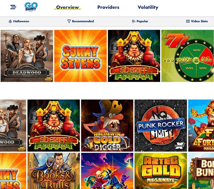 GoSlotty Casino Website Review