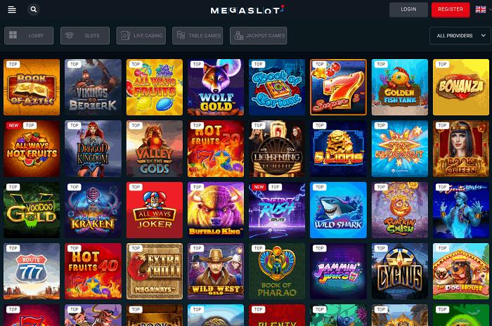 MEGASLOT Casino Full Review